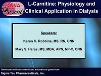 L-Carnitine: Physiology and Clinical Application in Dialysis
