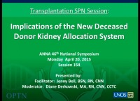 Transplantation ~ Kidney Allocation System