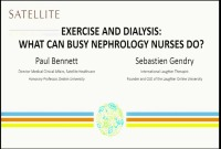 Exercise and Dialysis: What Can Busy Nephrology Nurses Do?