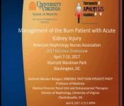 Management of the Burn Patient with Acute Kidney Injury