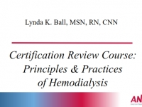 Certification Review Course - Hemodialysis